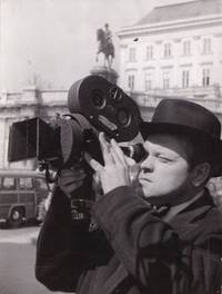 image of Around the World with Orson Welles (Original photograph of Orson Welles filming on location for the 1955 television miniseries)