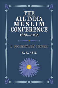 image of THE ALL INDIA MUSLIM CONFERENCE 1928-1935