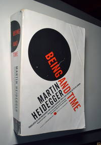 Being and Time (Harper Perennial Modern Thought) by  Martin Heidegger - Paperback - 2008-07-22 - from Somewhat Rare (SKU: BB4B200210020)