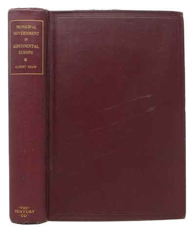 New York: The Century Co, 1895. 1st edition. Maroon cloth with gilt spine lettering. TEG. VG+ (poI o...