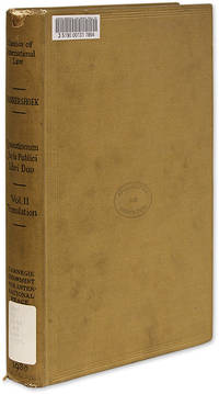 Quaestionum Juris Publici Libri Duo, Translation of the Text.. by  Cornelius van Bynkershoek  - 1930  - from The Lawbook Exchange Ltd (SKU: 70120)