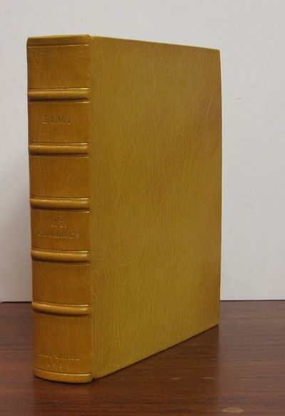 New York: Covici, Friede. First Edition. hardcover. fine. Tall thick 8vo, rebound in full lemon moro...