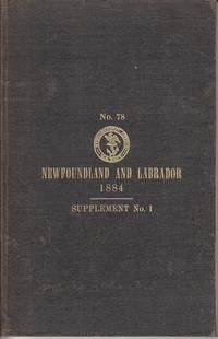 U. S. Hydrographic Office.  No. 78.  Newfoundland and Labrador.  1884.  Supplement No. 1 (Corrected to April 1, 1886)