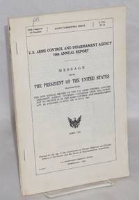 image of U.S. Arms Control and Disarmament Agency 1984 Annual Report