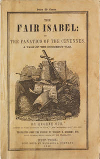 image of The Fair Isabel: or the Fanatics of the Cevennes. Translated by William H. Herbert, Esq (Frank Forester)