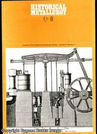 Journal of the Historical Metallurgy Society Vol 8 Number 1 1974