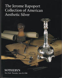 The Jerome Rapoport Collection of American Aesthetic Silver. June 20, 1996