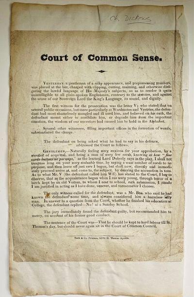 Court of Common Sense