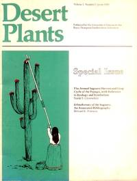 image of Desert Plants Volume 2, Number 1, Spring 1980 (Special Issue)