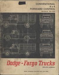 image of Dodge-Fargo Trucks Models 100 Through 800 Conventional Forward Control 4x4 Service Manual