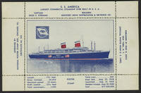image of S.S. America. Poster Stamp