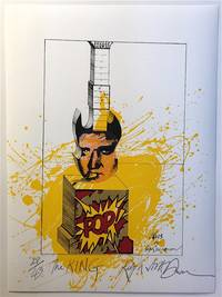 THE KING: Limited Edition, Signed Silkscreen Print