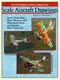 image of Scale Aircraft Drawings: Volume I - World War I