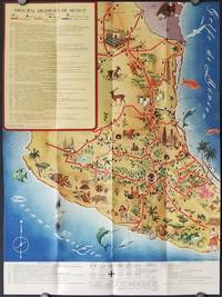 The Highway Map of Mexico.