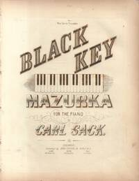 Black Key Mazurka for the Piano