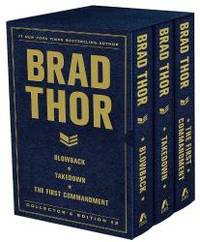 Brad Thor Collectors' Edition #2: Blowback, Takedown, and The First Commandment (The Scot Harvath...