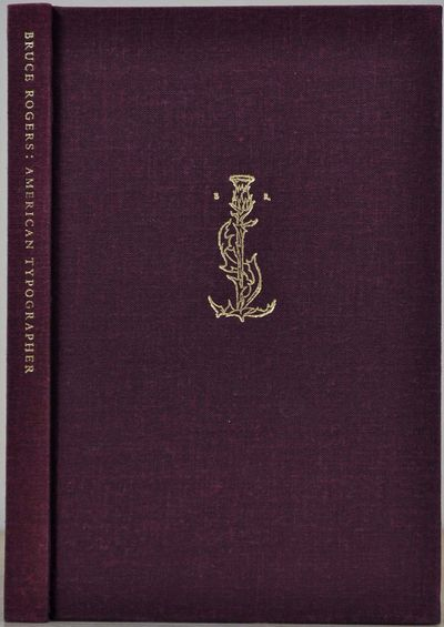 New York: The Typophiles, 1997. Book. Near fine condition. Hardcover. First Edition. 12mo - over 6¾...