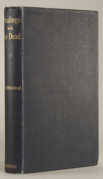 London: George Redway, 1898. Octavo, pp. 6-220 , original dark gray cloth, front panel stamped in bl...