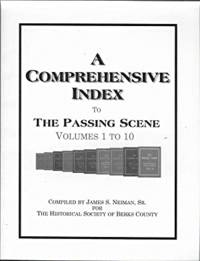 A Comprehensive Index to The Passing Scene, Volumes 1 to 10
