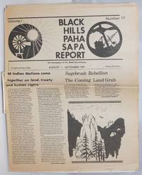 Black Hills / Paha Sapa Report. Vol. 1, no. 4 (August-September 1981)