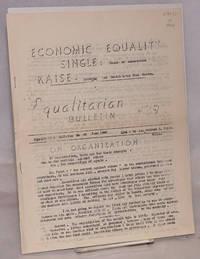 image of Equalitarian bulletin no. 39. June 1948