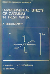 Environmental effects of Cadmium in fresh water - a bibliography