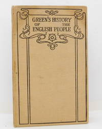 image of Green's History of The English People Volume  IX