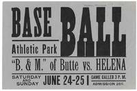 'Baseball - Athletic Park'