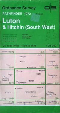 Luton & Hitchin (SW), 1:25,000 (Pathfinder sheet 1072)