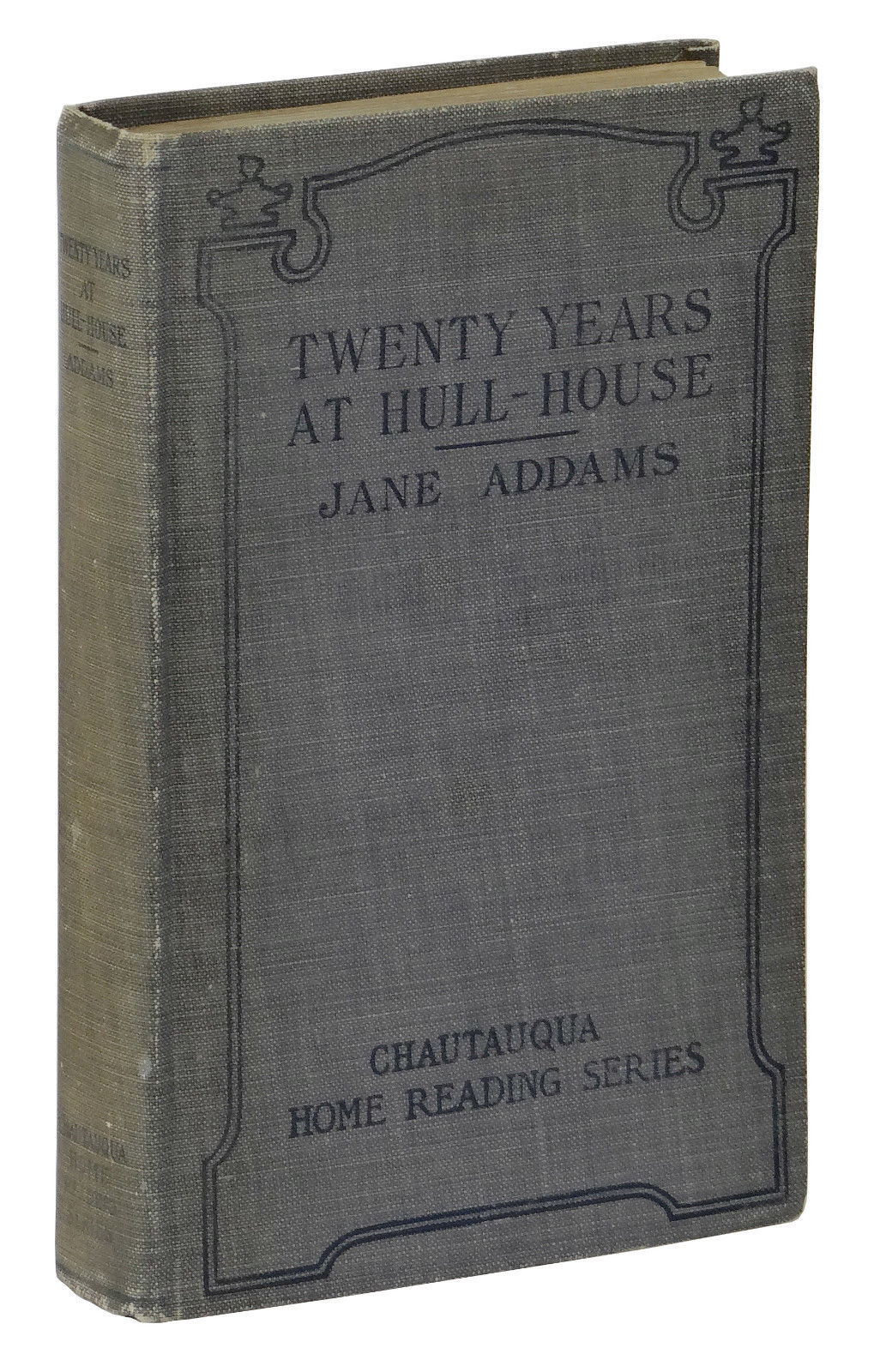 twenty years at hull house Twenty years at hull-house with autobiographical notes by jane addams hull-house, chicago author of democracy and social ethics, newer ideals of peace, the spirit of youth and the city streets, etc.