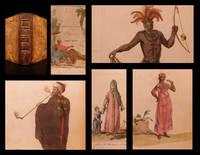 Costumes civils actuels de tous les peuples connus dessinés d'après nature gravés et coloriés accompagnés d'une notice historique sur leurs coutumes, moeurs, religions ... rédigés par M. Sylvain Maréchal