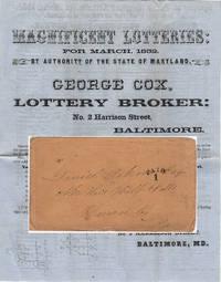MAGNIFICENT LOTTERIES . . . SPLENDID SCHEME . . .$1.901,900