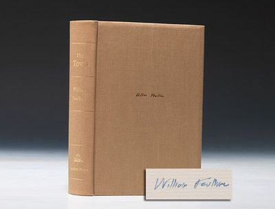 1957. First Edition . Signed. FAULKNER, William. The Town. New York: Random House, (1957). Octavo, o...