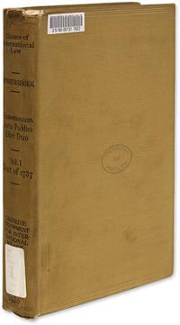 Quaestionum Juris Publici Libri Duo, Photographic Reproduction..