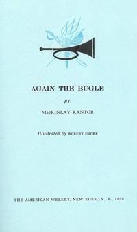 AGAIN THE BUGLE