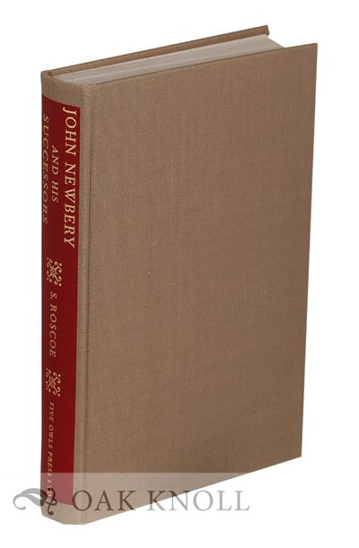 (Wormley, Hertfordshire, England): Five Owls Press, 1973. cloth, cloth spine label. Newbery, John. 8...