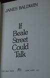 View Image 1 of 2 for IF BEALE STREET COULD TALK; a novel by the author of Another Country Inventory #58629