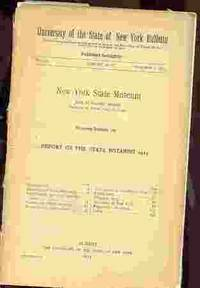 REPORT OF THE STATE BOTANIST 1912
