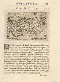 CANDIA OLIM CRETA by  Giovanni BOTERO - 1598 - from Peter Harrington (SKU: 56288)