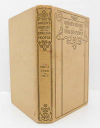image of Green's History of The English People Volume X