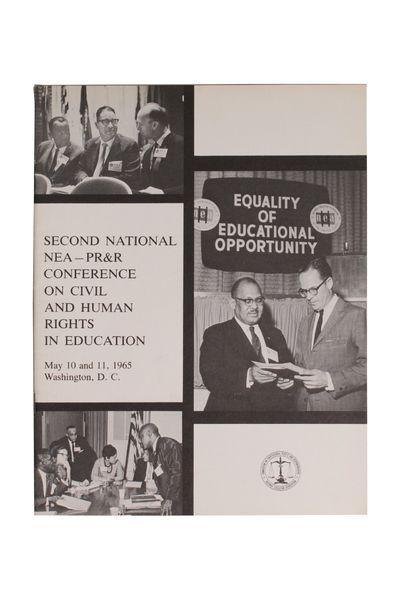 Washington, D. C.: National Education Association, 1965. Fine. 11