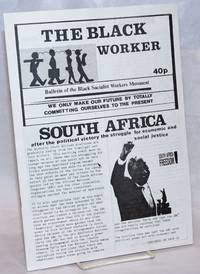 The Black Worker: Bulletin of the Black Socialist Workers Movement [single issue]