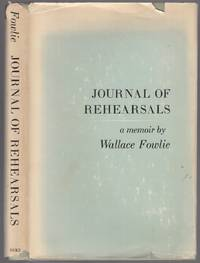 Journal of Rehearsals: A Memoir