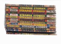 COMPLETE SET of Strange Stories Pulp magazine, Volume I, II, III, IV, V, # 1, 2, 3, February,...