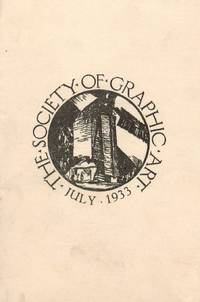 UNUSED PRINTED INVITATION to the Society's 13th Annual Exhibition.