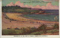 """Coogee Beach, Sydney.  """"Where you glide, content, carefree, o'er summer southern sea"""""""