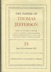 image of The Papers of Thomas Jefferson - Volume 24, 1 June to 31 December 1792