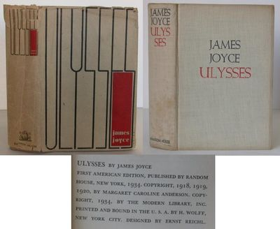 Random House, 1934. 1st Edition. Hardcover. Very Good/No Jacket. Published in New York by Random Hou...