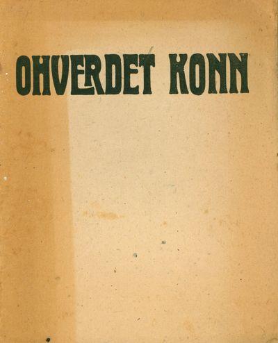 Tartu: Odamees, 1919. Quarto (22 × 17.5 cm). Original staple-stitched decorative wrappers; 8 pp....