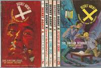"""""""SECRET AGENT X"""" SERIES: # 1 The Torture Trust / # 2 Servants of the Skull / # 3 Curse of the Mandarin's Fan / # 4 City of the Living Dead / # 5 The Death-Torch Terror / # 6 Octopus of Crime / # 7 The Sinister Scourge"""